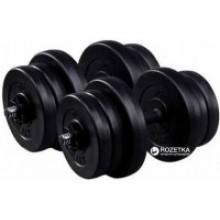 Комплект гантелей разборных со сменными дисками Neo Sport по 21 кг 2 шт (NEO_G2X21K)